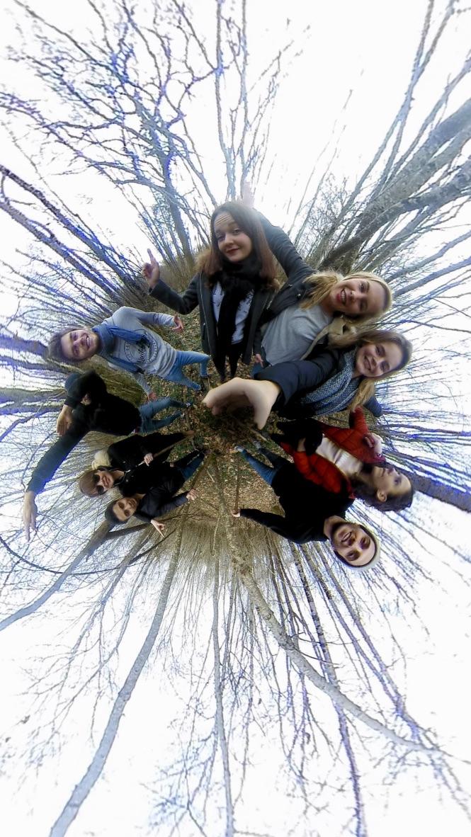Balade en campagne entre amis 360°