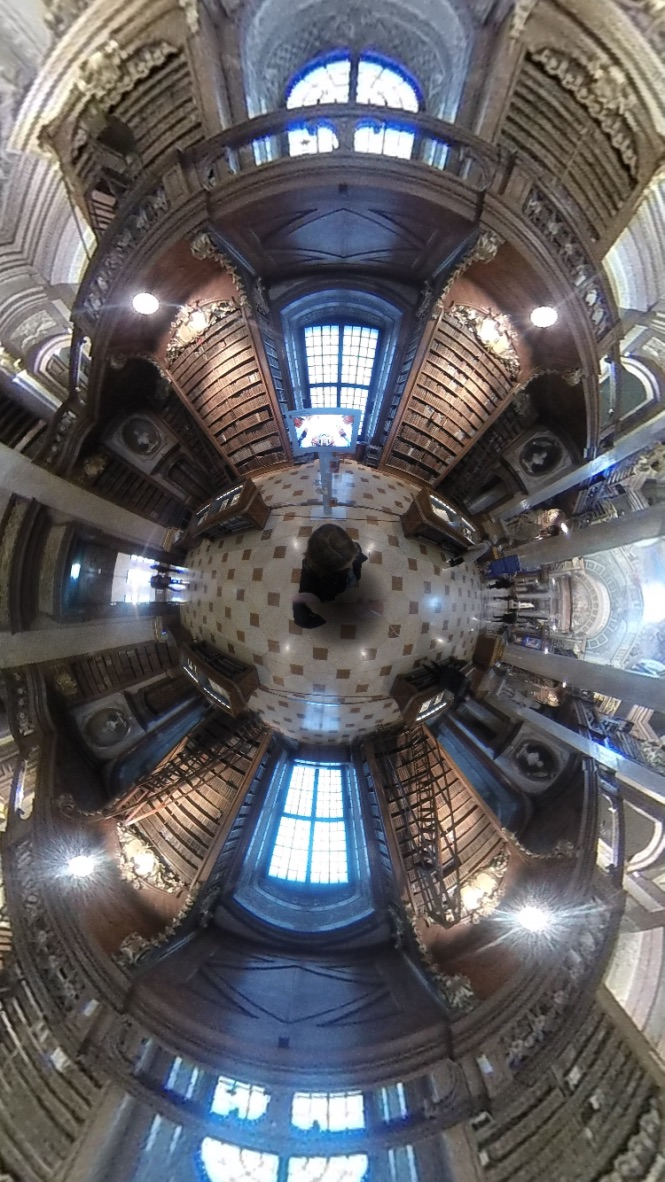Bibliothèque nationale à Vienne 360°