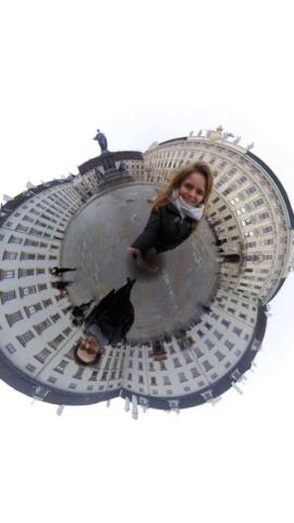 Josefsplatz à Vienne en Autriche en 360